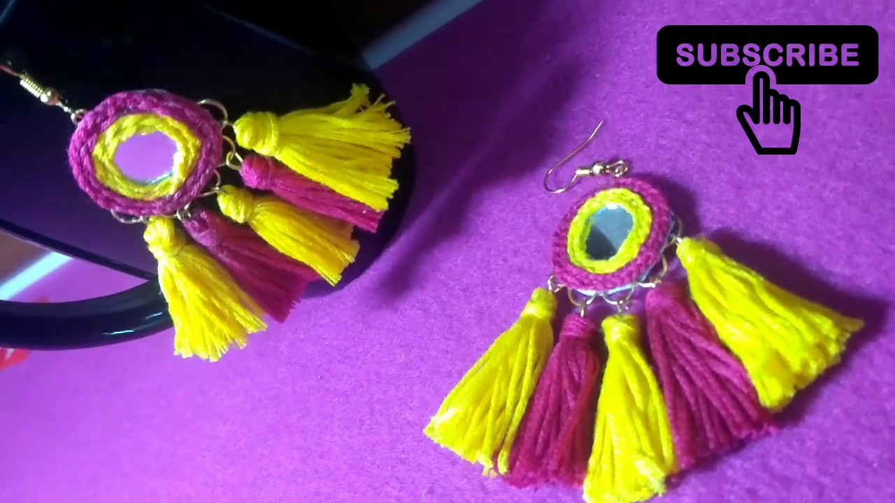 746f67ece Trending and Unique Tassel Earrings | Latest Design Tassel Earrings ...