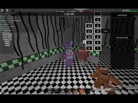 Jogando Roblox - Old Bonnie Matando o Nightguard