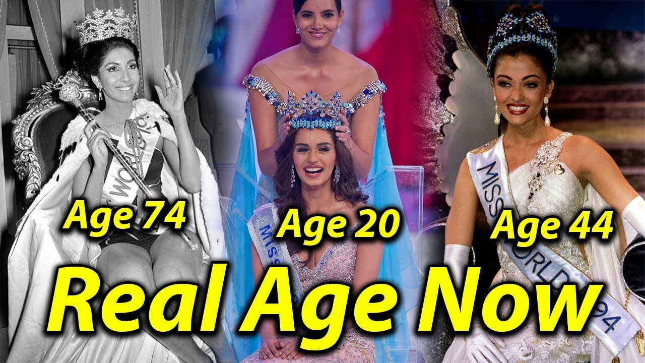 Indian Miss World And Miss Universe Real Age Now Aishwariya Rai