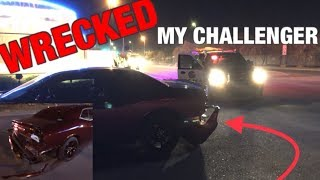 CRASHED My 2017 Dodge Challenger - I Almost Got CARJACKED!