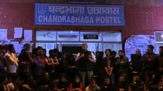 Siddharth Varadarajan  speech at Chandrabhaga Hostel Main Entrance, JNU  delivered on 24.02.2016. thumbnail