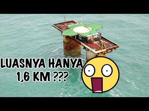 TOP 5 Negara paling KECIL di dunia, ada yang 0,44 km!!!