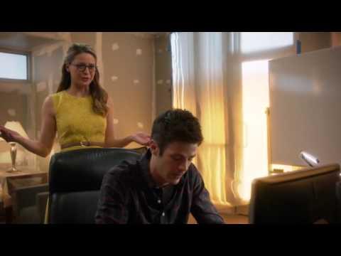 Supergirl: S1E18 - Barry meets James & Winn
