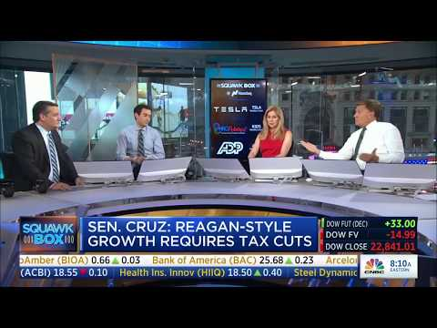 Ted Cruz on Squawk Box | October 13, 2017 | #TXSen