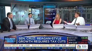 Ted Cruz on Squawk Box | October 13, 2017 | #TXSen