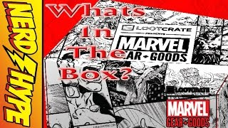 """""""The Best Marvel Subscription Box?!"""" - Lootcrate Marvel Gear & Goods Unboxing Video!"""