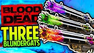 How To Get THREE BLUNDERGATS Easter Egg Tutorial (Black Ops 4 Zombies Blood of the Dead)