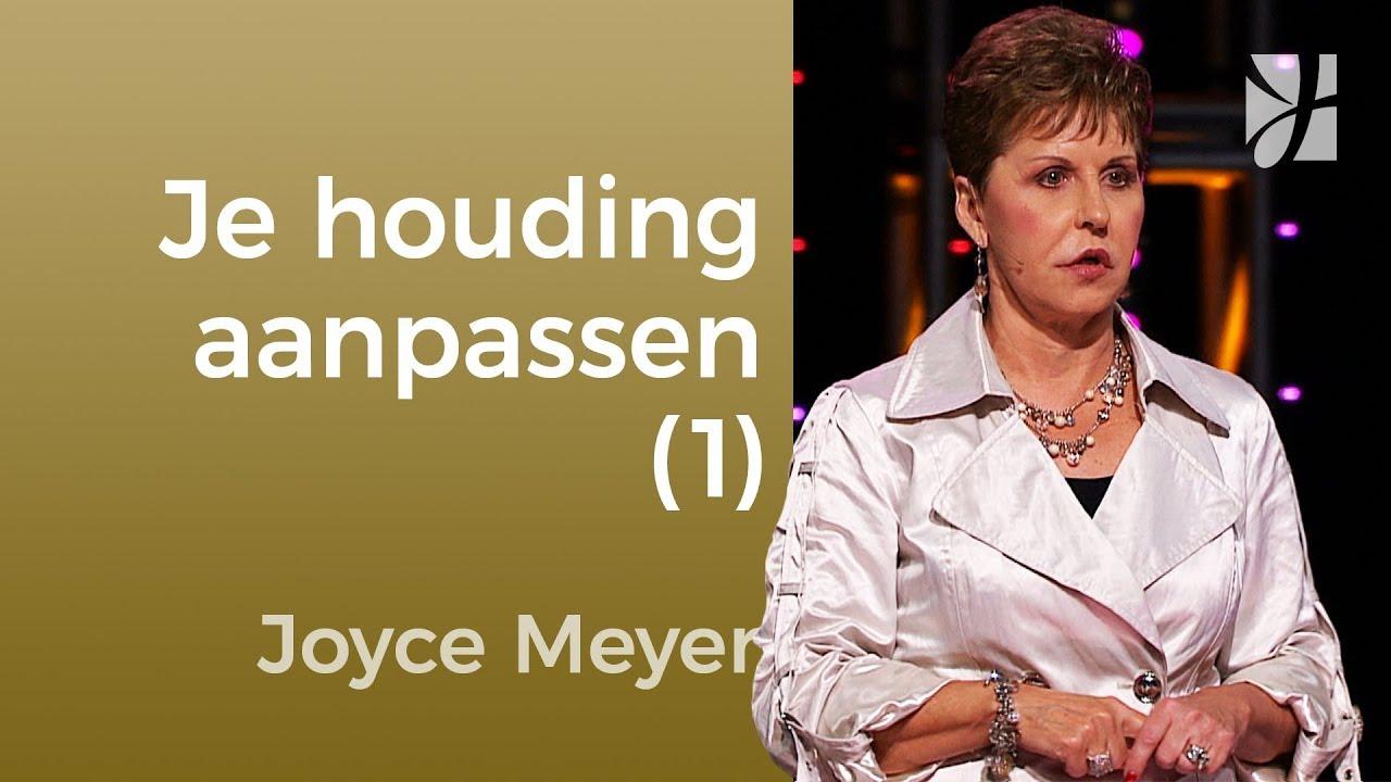 Je houding aanpassen (1) – Joyce Meyer – Gedachten en woorden beïnvloeden