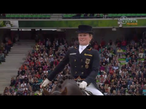 Langehanennberg Gets 2nd in Individual Dressage - Universal Sports