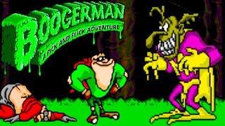 Boogerman прохождение (Sega Mega Drive, Genesis) + All Secrets