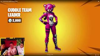 ALL 170 FORTNITE SKINS (2017-2019)