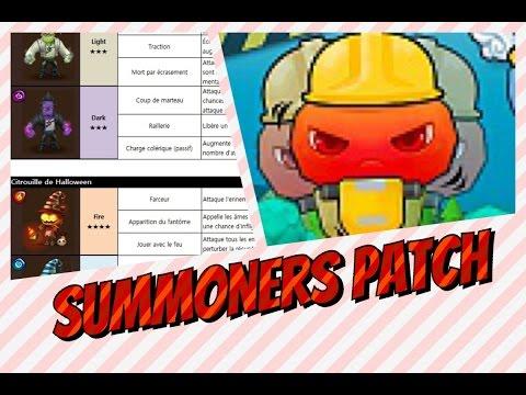 Summoners War - Summoner Patch - 3.2.0 Modifications De Monstres