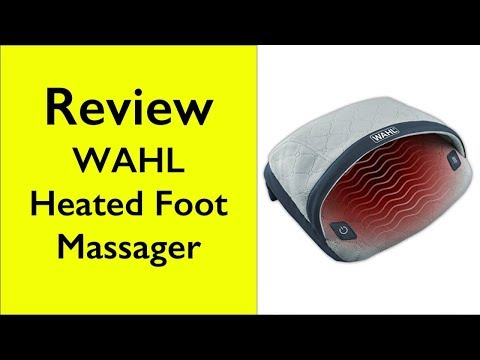 Review Wahl Heated Therapeutic Foot Massager #04299