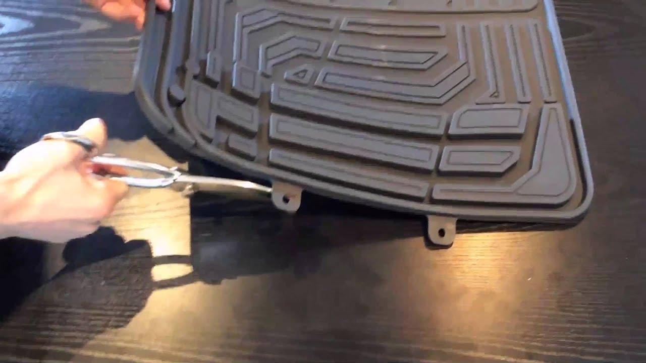 tapis auto en caoutchouc pvc youtube