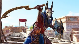 Assassin's Creed Origins Wrath of Anubis Legendary Sickle Sword Rampage