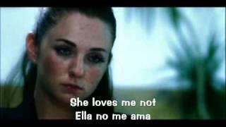 Tatu -  Loves Me Not (Español) Lyrics English-Spanish