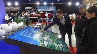 Интерактивный макет | Яхтенный порт в Таллине