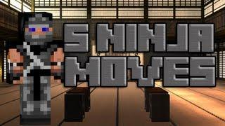 5 Ninja Moves in Minecraft
