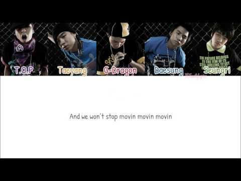 BIGBANG - LA LA LA [Color Coded Lyrics: Han/Rom/Eng]