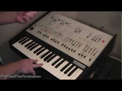 Arne Wendt Vintage Keyboard and Synth Masterclass 1