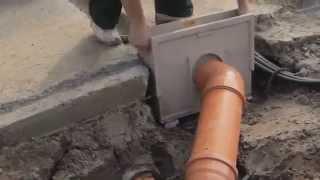 Монтаж ливневой канализации(Показан процесс монтажа ливневой канализации для частного дома. Заказать эти услуги в профессиональном..., 2014-09-09T16:42:22.000Z)