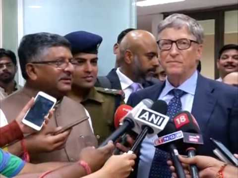 Bill Gates lauds India's impetus to digital transactions
