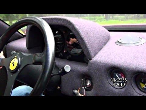 Ride In Ferrari F40 - Accelerations, Revs And More!
