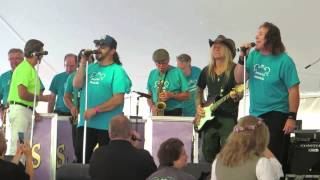 "Chris Caffery / Jimmy Sturr Orchestra - 8/9/2015 - ""Swingtown"" - Hunter Mountain, NY"