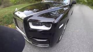 [4k] POV Private chauffeur €500k Rolls Royce Phantom VIII new generation in Stockholm Sweden