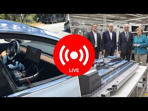 Tesla in India, German Gigafactory, Model 3 Details, and Model S Sales | Teslanomics Live 20170529