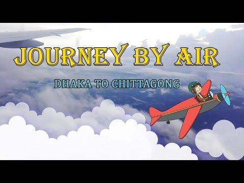 Journey by air | Dhaka to Chittagong | Bangladesh Biman - 29th August, 2017
