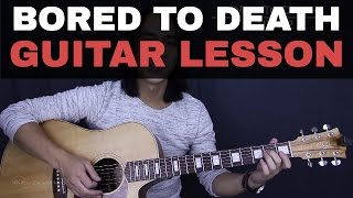 Bored To Death - Blink 182 Guitar Tutorial Lesson
