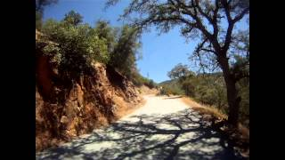 GoPro Hero HD - 1985 Honda Nighthawk 650 - Nevada County, CA - Yuba River Run [motojournal]