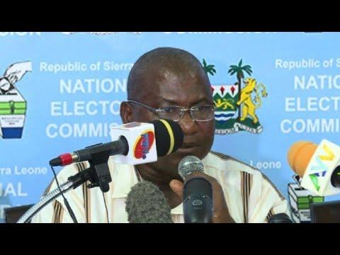 Sierra Leone: Julius Maada Bio wins presidential vote