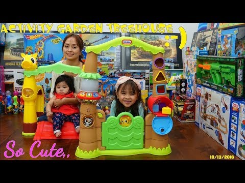 Thomas The Tank Engine & Friends And Little Tikes Activity Garden Treehouse Playtime Fun
