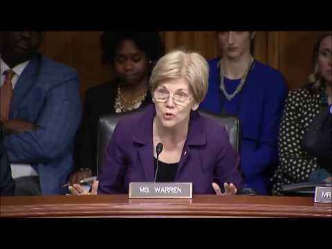 Sen. Elizabeth Warren Advocating for Medical Marijuana Research (2016)