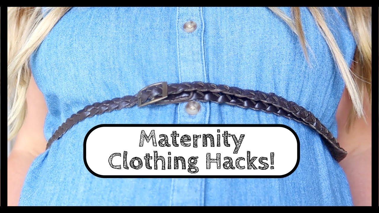 b6b3a933b5e Maternity Clothes Hacks - Money Saving Pregnancy Clothing Tips and Tricks