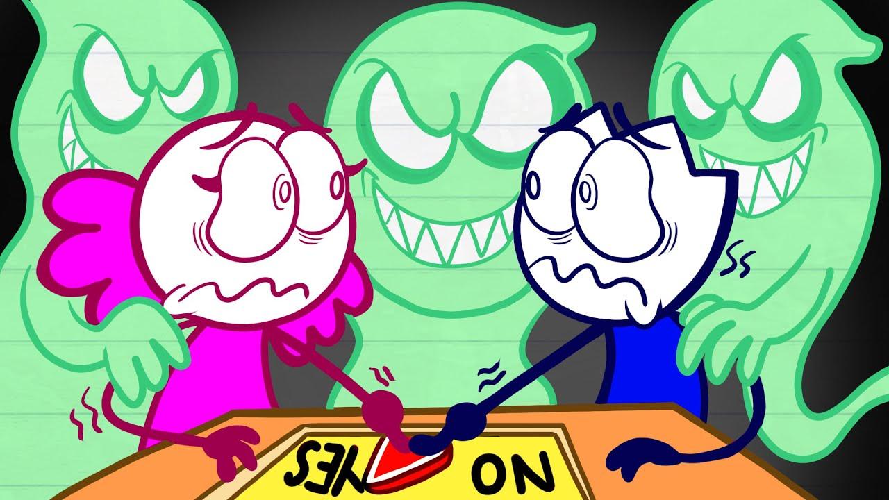 Max's Scary Ouija Story - Pencilanimation Short Animated Film
