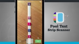 Pool Test Strip Scanner iPhone App Demo