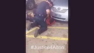 Alton Sterling es brutalmente asesinado por la Policia de Baton Rouge Louisiana Estados Unidos