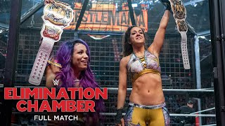FULL MATCH - WWE Women's Tag Team Championship Elimination Chamber Match: Elimination Chamber 2019