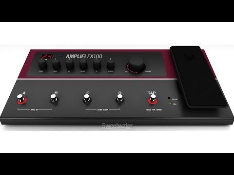 Line 6 Amplifi FX100 Amp/Effect Modeler Demo - Sweetwater Sound