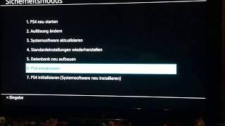 PlayStation 4 Primären Benutzer löschen und auf Werkseinstellung zurückstellen