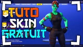 HOW TO HAVE THE GHOUL TROOPER FREE ON FORTNITE