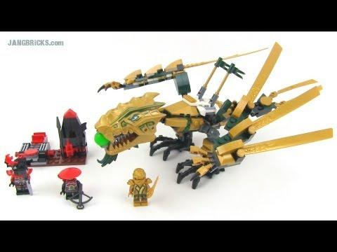Lego Ninjago Golden Dragon 70503 Set Review Youtube