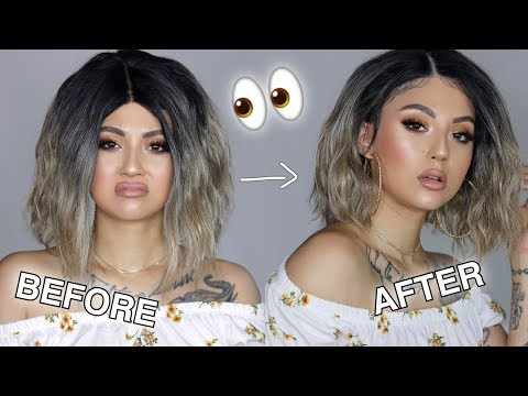 How I Slay My Cheap Synthetic Wigs