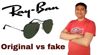 vuclip Ray Ban Sunglasses Original vs fake | RayBan aviator sunglasses |