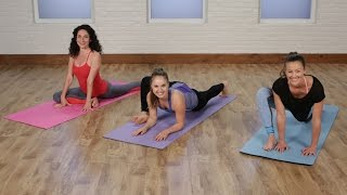5-Minute Yoga Stretch Routine to Work Up to the Splits  Class FitSugar