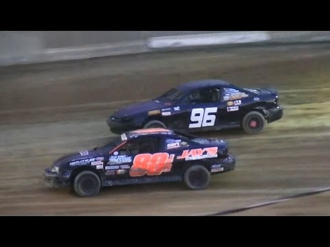 Mini Stock Feature | Old Bradford Speedway | 8-28-16