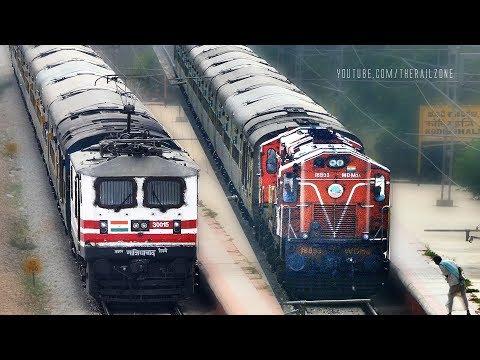 Before & After | WAP5 Garibrath Express | SC - YPR | Indian Railways